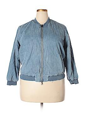 Lucky Brand Denim Jacket Size 1X (Plus)