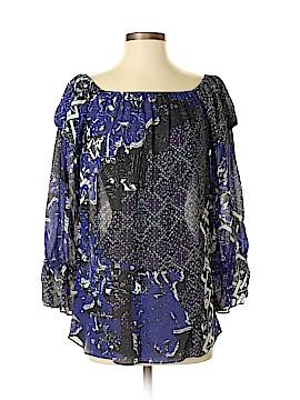 Nicole Miller Artelier Long Sleeve Blouse Size S