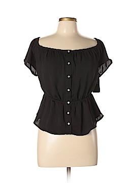 Guess Short Sleeve Blouse Size XL