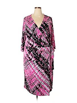 Peter Nygard Casual Dress Size 2X (Plus)