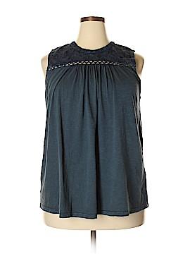Lucky Brand Sleeveless Blouse Size 2X (Plus)