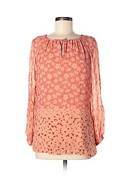 Tory Burch Long Sleeve Silk Top Size 6