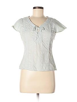 J.jill Short Sleeve Blouse Size 6 (Petite)