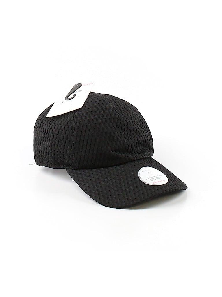 Layer 8 Solid Black Baseball Cap One Size - 70% off  9ea629ed420b