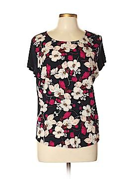 Ann Taylor Factory Short Sleeve Blouse Size L