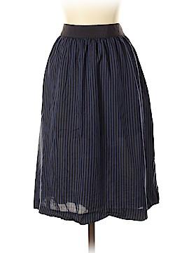 L.L.Bean Silk Skirt Size 14