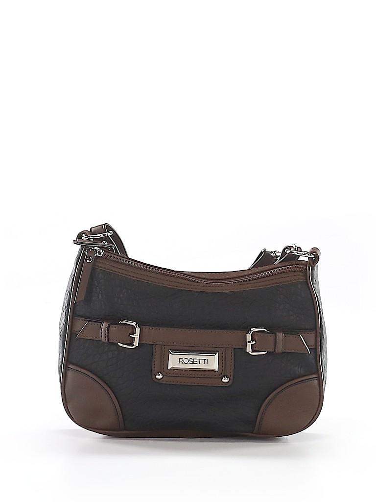 0e39a13f10db Rosetti Handbags Color Block Black Shoulder Bag One Size - 53% off ...