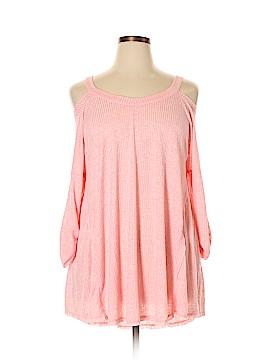 Umgee 3/4 Sleeve Top Size 1X (Plus)