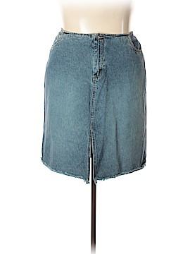 Venezia Denim Skirt Size 20 (Plus)