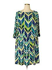 Roz & Ali Women Casual Dress Size 20 (Plus)