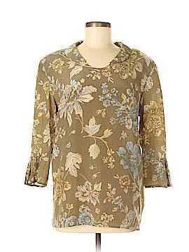 Giorgio Armani 3/4 Sleeve Blouse Size 46 (IT)