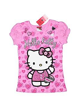 Hello Kitty Short Sleeve Top Size 6X