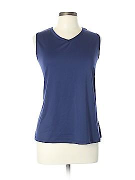 Susan Graver Sleeveless Blouse Size XL