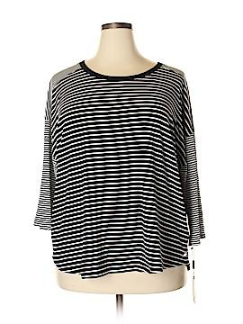 Calvin Klein 3/4 Sleeve T-Shirt Size 3X (Plus)