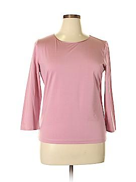 Linda Allard Ellen Tracy Long Sleeve Top Size L