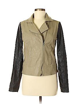 Jack. Faux Leather Jacket Size M