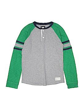 Gap Kids Long Sleeve Henley Size X-Large (Youth)