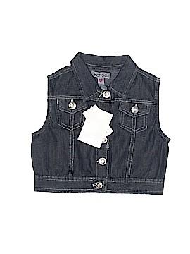 KensieGirl Denim Vest Size 6X
