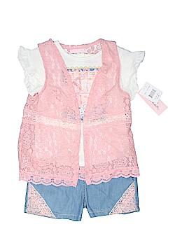 Little Lass Short Sleeve Blouse Size 24 mo