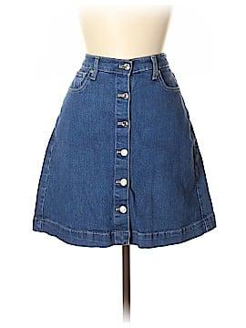 Gap Denim Skirt Size 12 Tall (Tall)