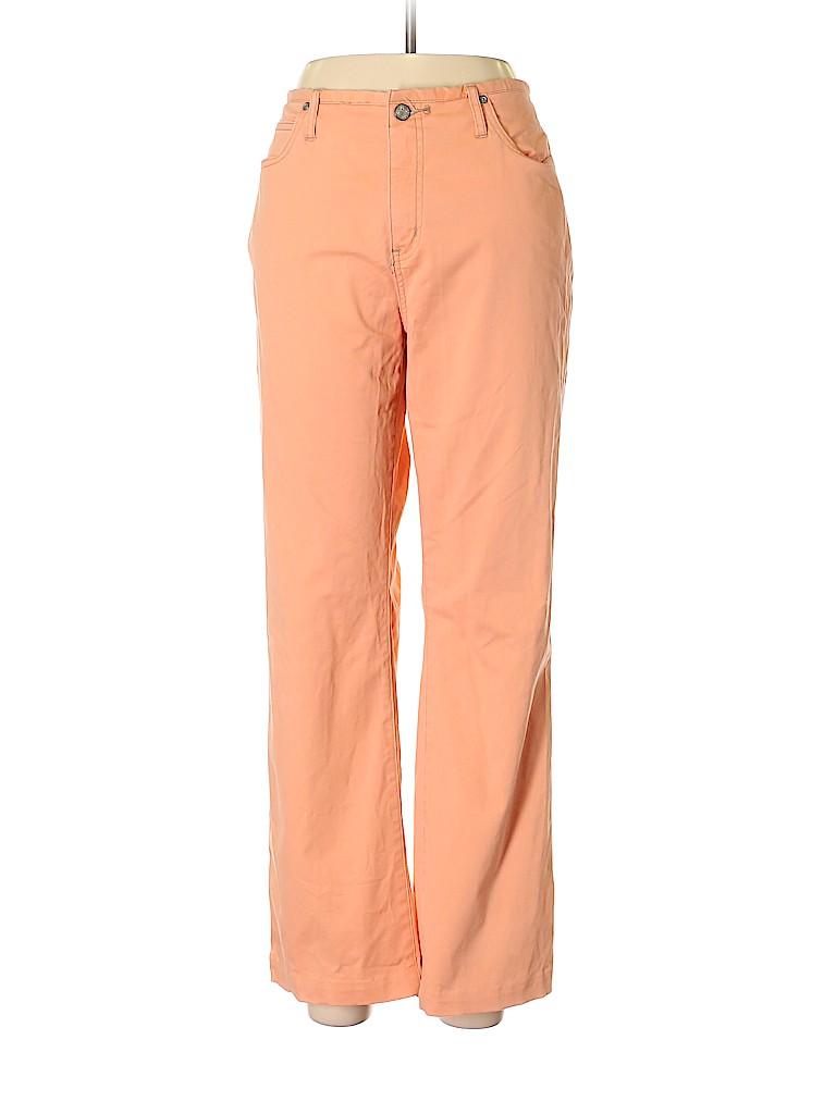 So Blue Sigrid Olsen Solid Coral Jeans Size 12 - 63% off  879d3f69a3