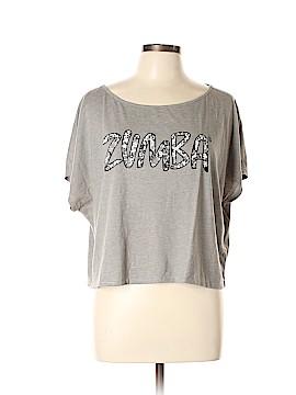 Zumba Wear Short Sleeve T-Shirt Size XL