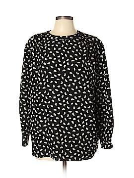 SK & Company Long Sleeve Blouse Size 16