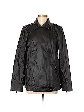 Banana Republic Faux Leather Jacket Size M