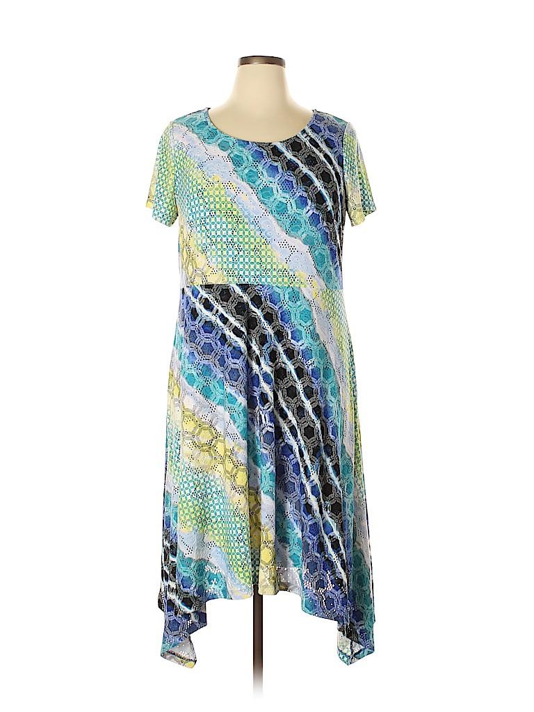 Dana Buchman Women Casual Dress Size XL