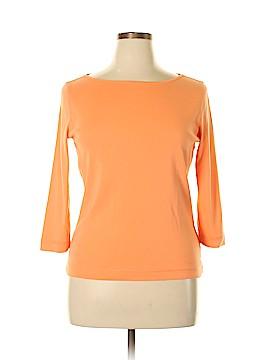Jones New York 3/4 Sleeve T-Shirt Size L