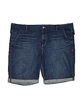 Lane Bryant Denim Shorts Size 24 (Plus)