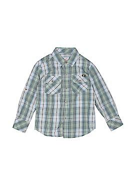 Lucky Brand Long Sleeve Button-Down Shirt Size 5