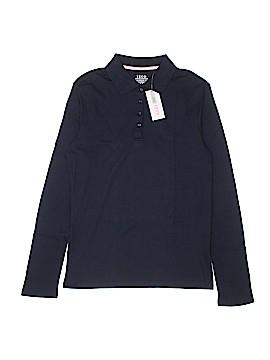 IZOD Long Sleeve Polo Size 20.5 Plus (Plus)
