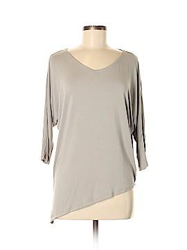 Joan Vass 3/4 Sleeve Top Size XS
