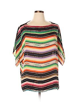 Ralph Lauren Short Sleeve Silk Top Size 1X (Plus)