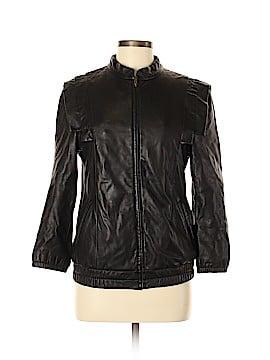 Loeffler Randall Leather Jacket Size 6