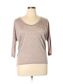 ALTERNATIVE 3/4 Sleeve T-Shirt Size L