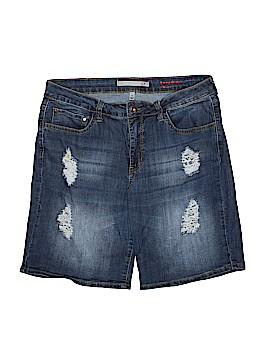 !It Jeans Denim Shorts Size 14