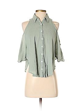 Mara Hoffman Short Sleeve Blouse Size XS