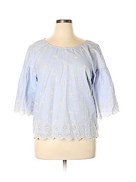 Sanctuary 3/4 Sleeve Blouse Size L