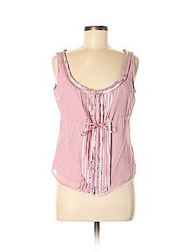 Gianni Bini Short Sleeve Silk Top Size M