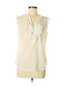 Ann Taylor LOFT Short Sleeve Silk Top Size M