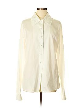 Escada Elements Long Sleeve Button-Down Shirt Size 38 (IT)