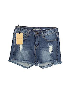 Machine Denim Shorts Size M