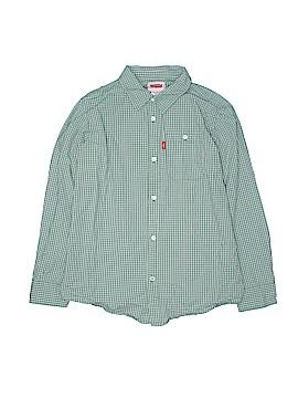 Levi's Long Sleeve Button-Down Shirt Size L (Kids)