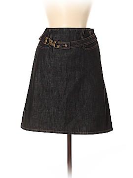 D&G Dolce & Gabbana Denim Skirt 28 Waist