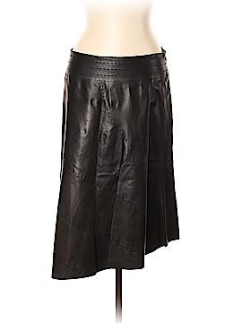 Just Cavalli Leather Skirt Size 46 (IT)