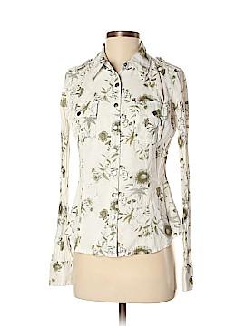 Da-Nang Long Sleeve Button-Down Shirt Size S
