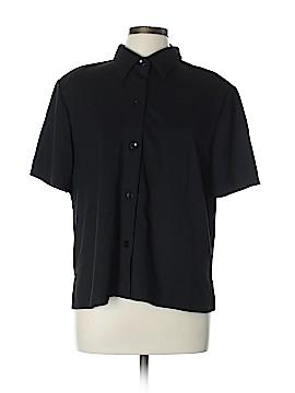 Susan Graver Short Sleeve Blouse Size XL