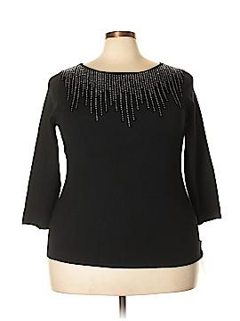 Ruby Rd. Short Sleeve T-Shirt Size 1X (Plus)